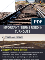 ppt on turnouts in railway engineering