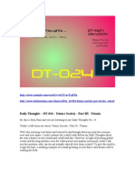 DT-024 - Future Society Part 3 - Titania - Daily Thoughts