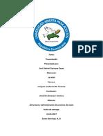 Estructura y Administracion de Servicios de viajes tarea 2