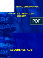 URGENTE MEDICO-CHIRURGICALE-  Digestiv