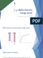 Esfuerzo y deformación Carga axial.pptx