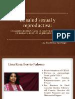 La salud sexual y reproductiva Un ámbito de disputa en la construcción de la ciudadanía para las mujeres en méxico Mafer