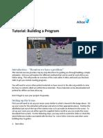 BuildingAProgram_TutorialExercise