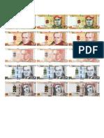 billetes peruanas