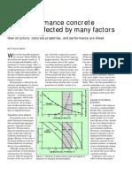 Concrete Construction Article PDF_ High-Performance Concrete Durability Affected by Many Factors