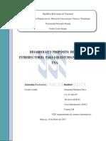 Desarrollo y proposito de cursos Introductorio