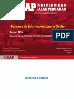 Semana 2.1 Tecnologías de Información y Comunicación