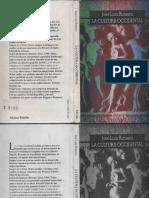 La Cultura Occidental Jose Luis Romero Alianza Editorial 1994