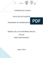 Manual para uso de la plataforma E-virtuaL