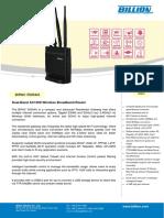 BiPAC 5500AX Datasheet-V20160902