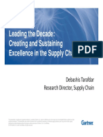 Creating and Sustaining Excellence in the Supply Chain_D Tarafdar