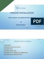 17. Pipeline Install