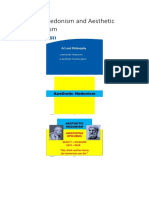 Aesthetic Hedonism and Aesthetic Functionalism.docx