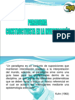 UPEL Paradigma constructivista