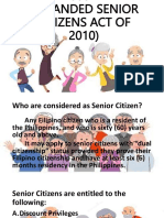 Senior Citizen's Act