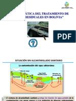 Problematica del tratamiento de aguas residuales en Bolivia