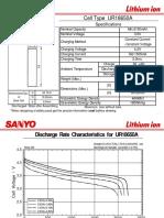 UR18650A-Sanyo