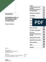 Sinumerik 840D Sl - Sinumerik 828D Fundamentals - Programming Manual