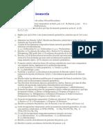 Ejercicios de isomería