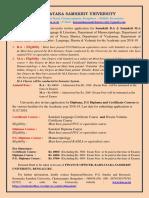 KSU Course Advertisement 2018-19