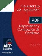 CUADERNO DE APUNTES-INT225_TALLER DE NEGOCIACION Y CONDUCCION DE CONFLICTOS