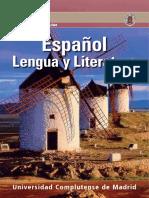 ESPA;OL LENGUA Y LITERATURA