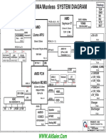 HP Pavilion G4-G6-G7 AMD Quanta R23 DAOR23MB6DO, DA0R23MB6D1 REV-D Schematics