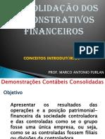 Apresentação 3_Consolidacao das demonstracoes contabeis