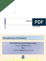 PPT ETNOSAINS KLP 1