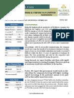 Rudra Shares Chambal fertiliser  Short Term Call Research Report                                                     Chambal Fertiliser (Revised) Ltd