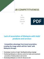 Halal Hub Competitiveness