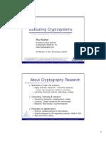 HackingCryptosystems