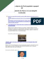 manœuvres abjectes du Parti populaire espagnol   PP