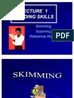 L1 Skim Scan Ref Word.academic Writing.students