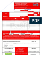 Business Permit License Office Renewal Form