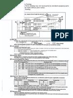 Yanmar Excavator b50-2.  Electrical Wiring Diagrams + Parts Catalog