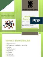 Clase 2 2019, Biomoléculas