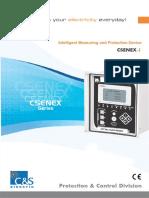 CSENEX-I Catalogue