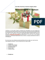 Which is the Best 6 Christmas Promotional Gifts That Every Customer Eagerly Wait