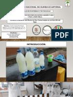 Evaluación del Efecto de Dos Conservantes en la Vida Útil del Topé.