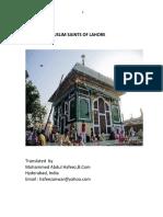 Auliya-of-Lahore