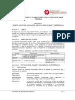 Reglamento de Medidores - BOOTCP19003