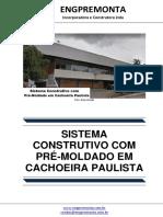 Sistema Construtivo Com Pré-Moldado Em Cachoeira Paulista