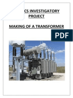 transformer project