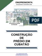 Construção de Prédio Em Cubatão