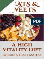 Tracy A. Minton-Matesz & Don Matesz - Meats & Sweets _ A High Vitality Diet - (Croker).epub