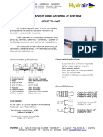 Acoples Rapidos para Sistemas de Pinturas - Hydrair SA