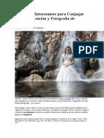 Jesus Cañadas - 2 Tecnicas para conjugar larga exposicion y retratos