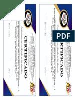 Certificado nota 10