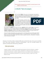 Tema 1_Juego y desarrollo infantil. Tipos de juegos_